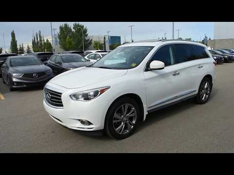 2013 Infiniti JX35 AWD Deluxe Touring Tech Walk Around Review | West Side Acura in Edmonton Alberta