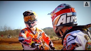 Red Bull KTM Factory Racing video Jeffrey Herlings and Jordi Tixier