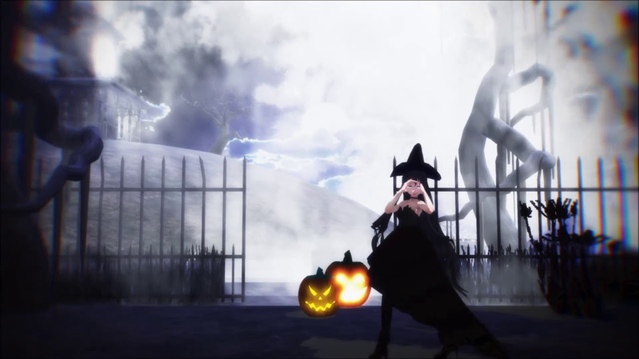 Mmd Halloween Stage Dl 2020 Happy Halloween 2018 | English Ver【MMD】Motion DL   YouTube