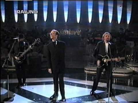 Bee Gees - Alone - San Remo Festival 1997