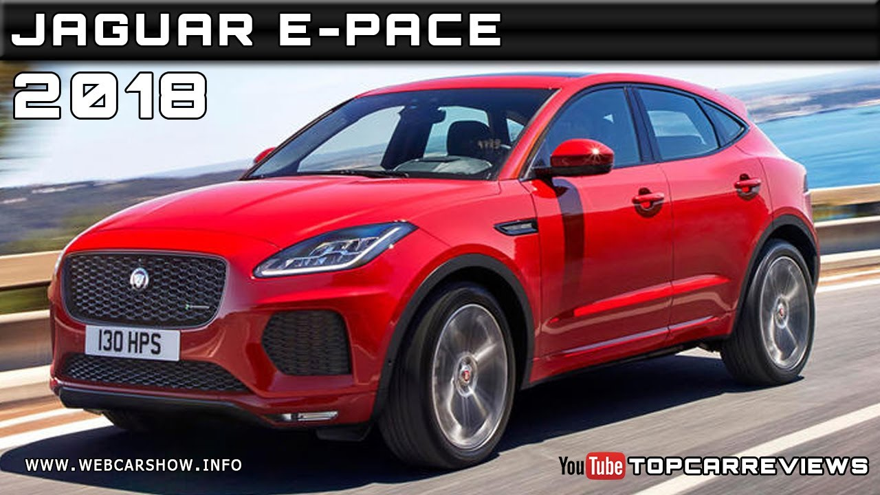 2018 jaguar e pace review rendered price specs release date youtube. Black Bedroom Furniture Sets. Home Design Ideas