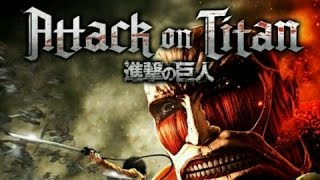 Momentos Iniciais: Attack On Titan - Wings Of Freedom