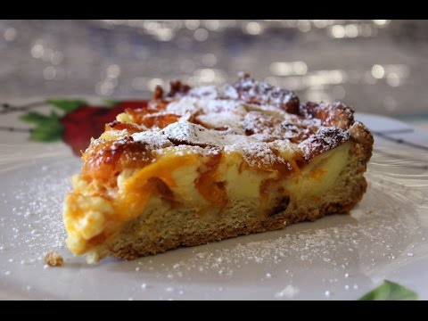 Песочный пирог с фруктами рецепт с фото