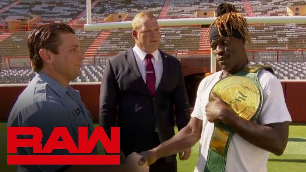 R-Truth loses 24/7 Title to Mayor Glenn Jacobs then reclaims it: Raw, Sept. 16, 2019