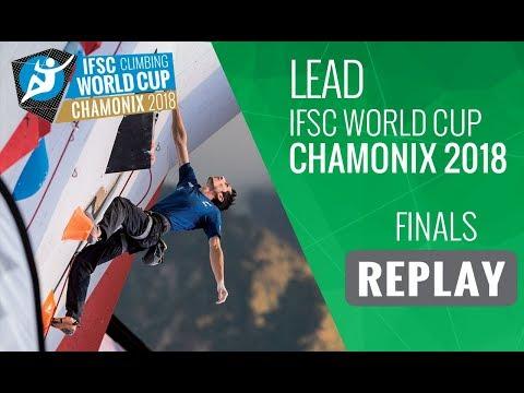IFSC Climbing World Cup Chamonix 2018 - Lead - Finals - Men/Women
