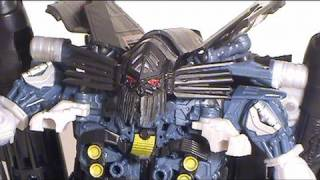 Video review of Transformers Revenge of the Fallen movie toy; Leader Class Jetfire