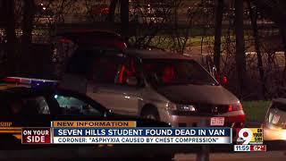 Seven Hills student found dead in van