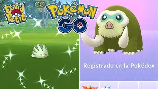 REGISTRO DE MAMOSWINE SHINY! COMMUNITY DAY DE SWINUB! (PARTE 1) [Pokémon GO-davidpetit]