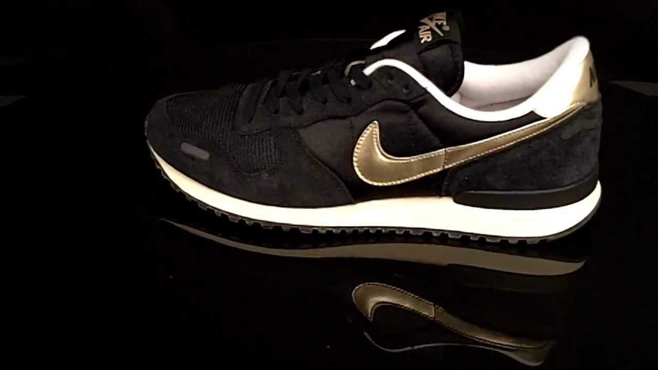 Nike Air Vortex Vintage Black Metallic Gold White 429773