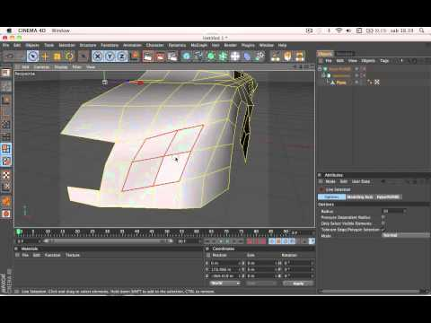 AUDI RSQ SPEED MODELLING IN CINEMA 4D
