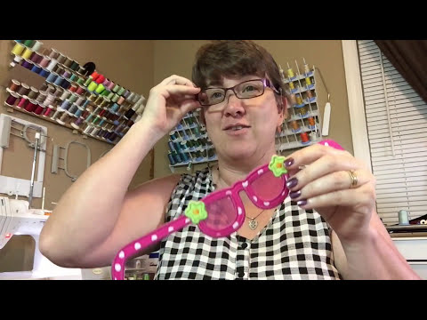 Molly Mine Purse Book Sunglasses Tutorial