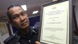 Auxiliary cop unfazed with criticisms hurled against him