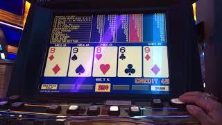 Video poker play