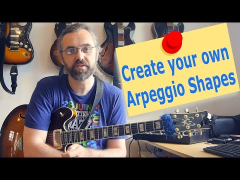 Create your own Arpeggio shapes