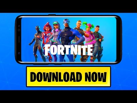 Fortnite MOBILE on ANDROID! (Fortnite: Battle Royale) [Release Date] *NEW*