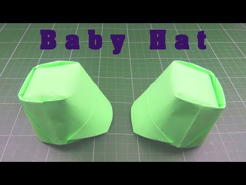 Origami Hat for Kids | How to fold a paper Hat | Easy origami Hat from paper step by step