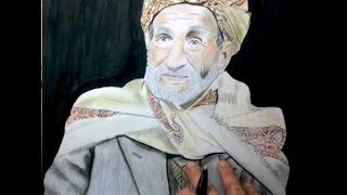 رسم رجل يمني ( إهداء لكل اليمنيين في الداخل والخارج ) Drawing a Yemeni man