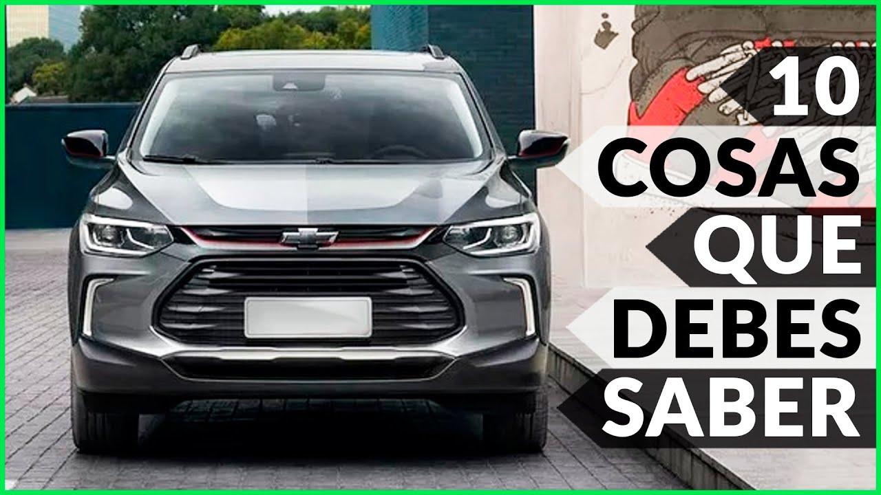 Chevrolet Tracker 2021 10 Cosas Que Debes Saber Youtube
