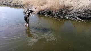 Рыбалка с ночёвкой на озере Косаголь