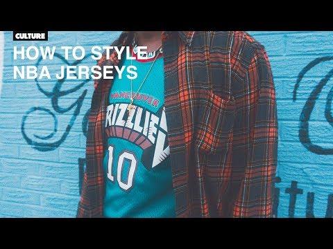 How To Wear NBA Jerseys (TUTORIAL) + Lookbook
