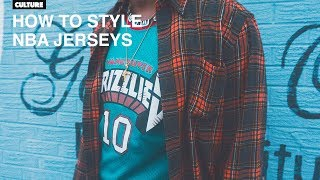 How To Wear NBA Jerseys (TUTORIAL) + Lookbook