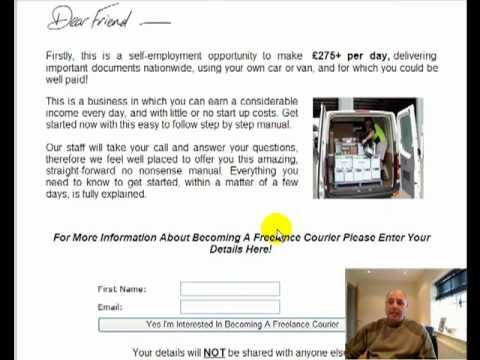 Make Money Driving As A Freelance Self Employed Courier - Driving Jobs