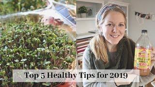 Top 5 health tips for 2019 -
