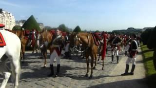 25-6-2015 (1) HOLLANDE remet des décorations militaires (les INVALIDES)
