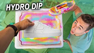 Hydro Dipping Air Force 1's 👟 Incredible! + Giveaway