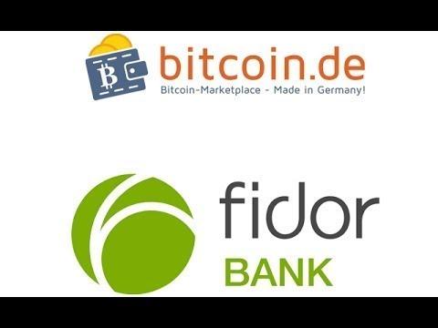 Bitcoin kaufen und Bitcoin verkaufen auf Bitcoin de / Fidor Bank