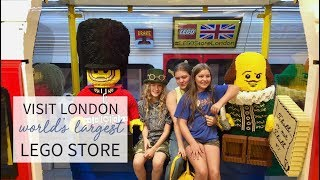 Inside the World's Biggest LEGO store in London l Travel