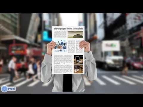 newspaper prezi template youtube. Black Bedroom Furniture Sets. Home Design Ideas