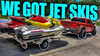 WE BOUGHT JET SKIS!!!