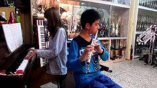蔡博丞 聽見下雨的聲音 (方文山 電影 同名主題曲) 長笛演奏 20140304