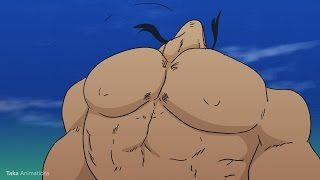 Shiryu Giant Muscle Growth (Request)