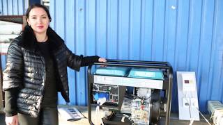 Как завести генератор Konner&Sohnen KS 6100 hde
