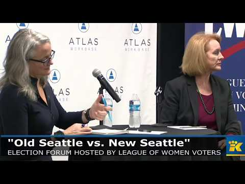 Seattle election forum hosted by League of Women Voters