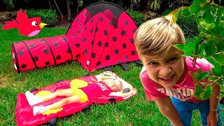 Diana and her Camping trip