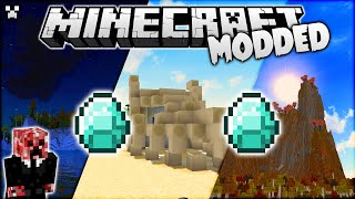 Can Minecraft Get Any More Beautiful?! (Modded Survival)