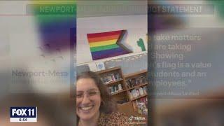 Orange County teacher's TikTok video raising concern