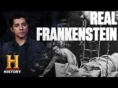 Real Life Frankenstein Scares a Man to Death | Dark History