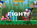 MUGEN Sonic and Tails (ME) Vs Papyrus and Muffet