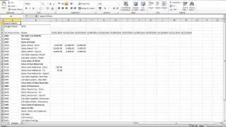 Budgets in MIcrosoft Dynamics NAV 2013