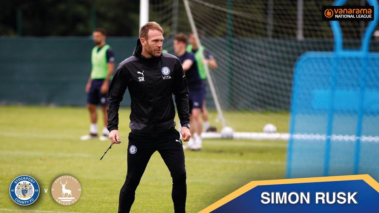Simon Rusk Match Preview | County V Hartlepool  | National League Play-Off Semi-Final