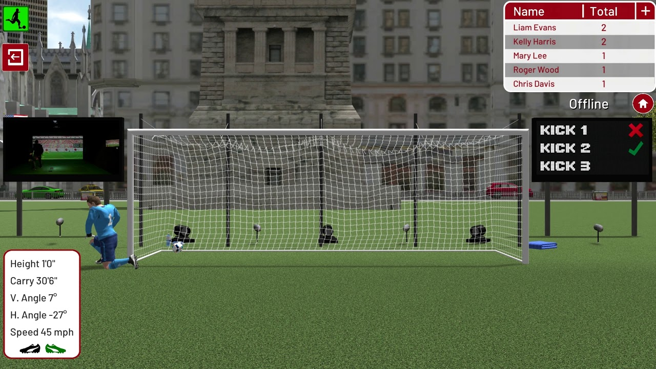 Football Environment   New York   Penalty Kick