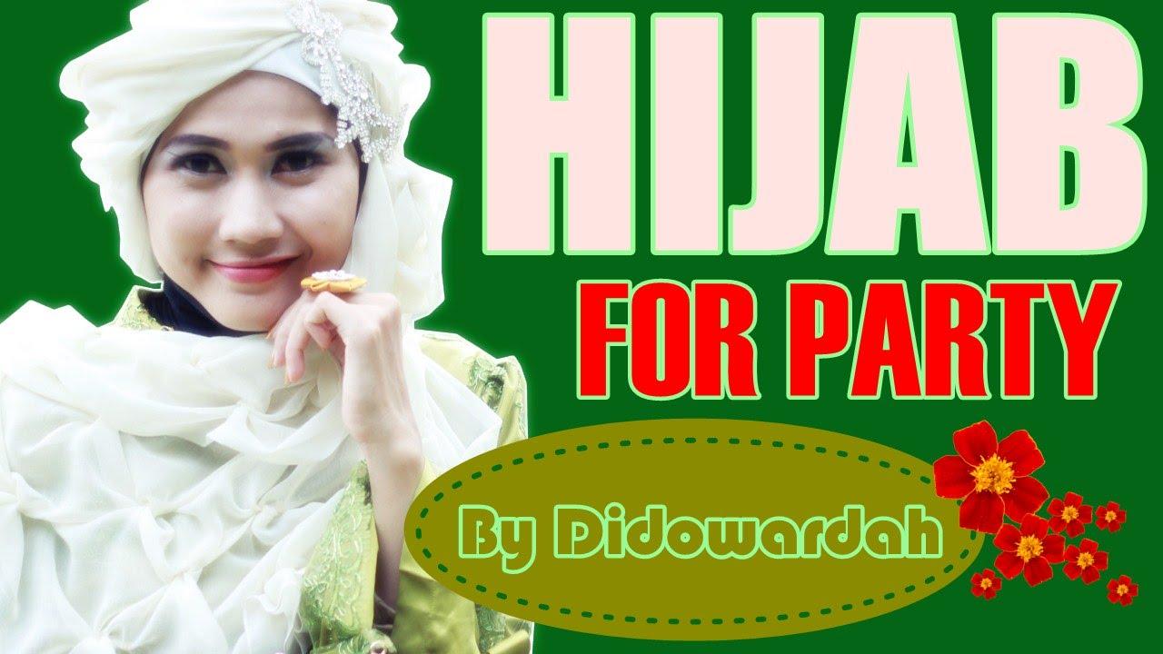 Model Hijab Segi Empat Untuk Pesta Menutup Dada By Didowardah 58