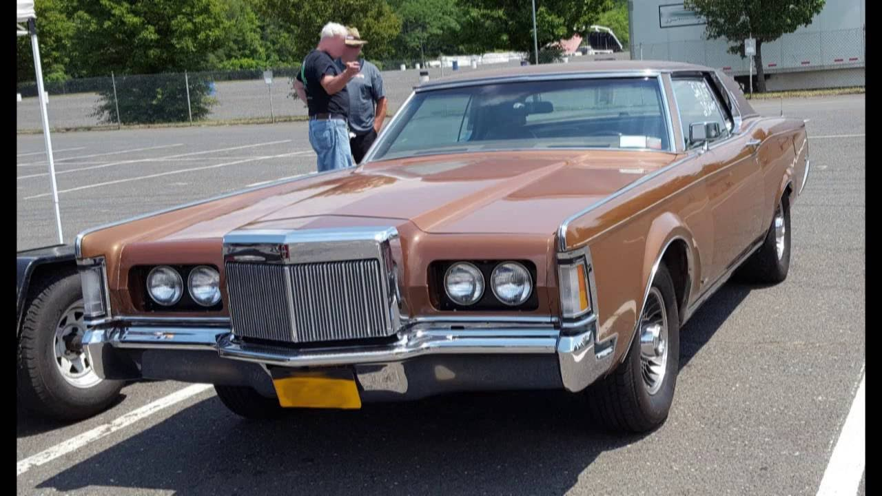 Frankie Ford's Worlds Fastest 1970 Mark III Hot Rod Lincoln with In