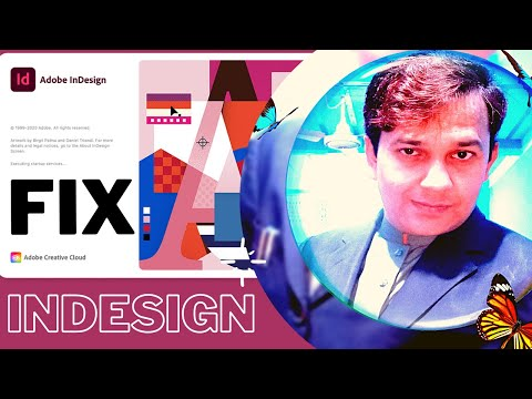 How to Fix Adobe InDesign 2021 New Document Dialogue box issue #AdobeIndesign#Indesign#fixindesign