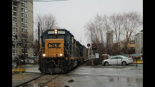 Chasing CSX B721 and More! 2/11/2018