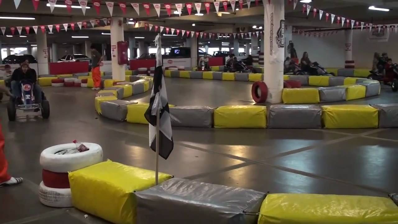 Karting A Pedal Carrefour Mar Del Plata Youtube